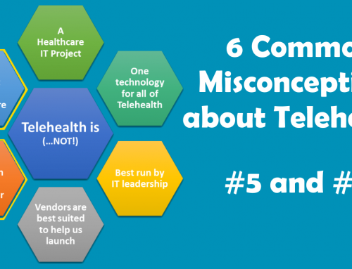 Two More Misconceptions about Telehealth