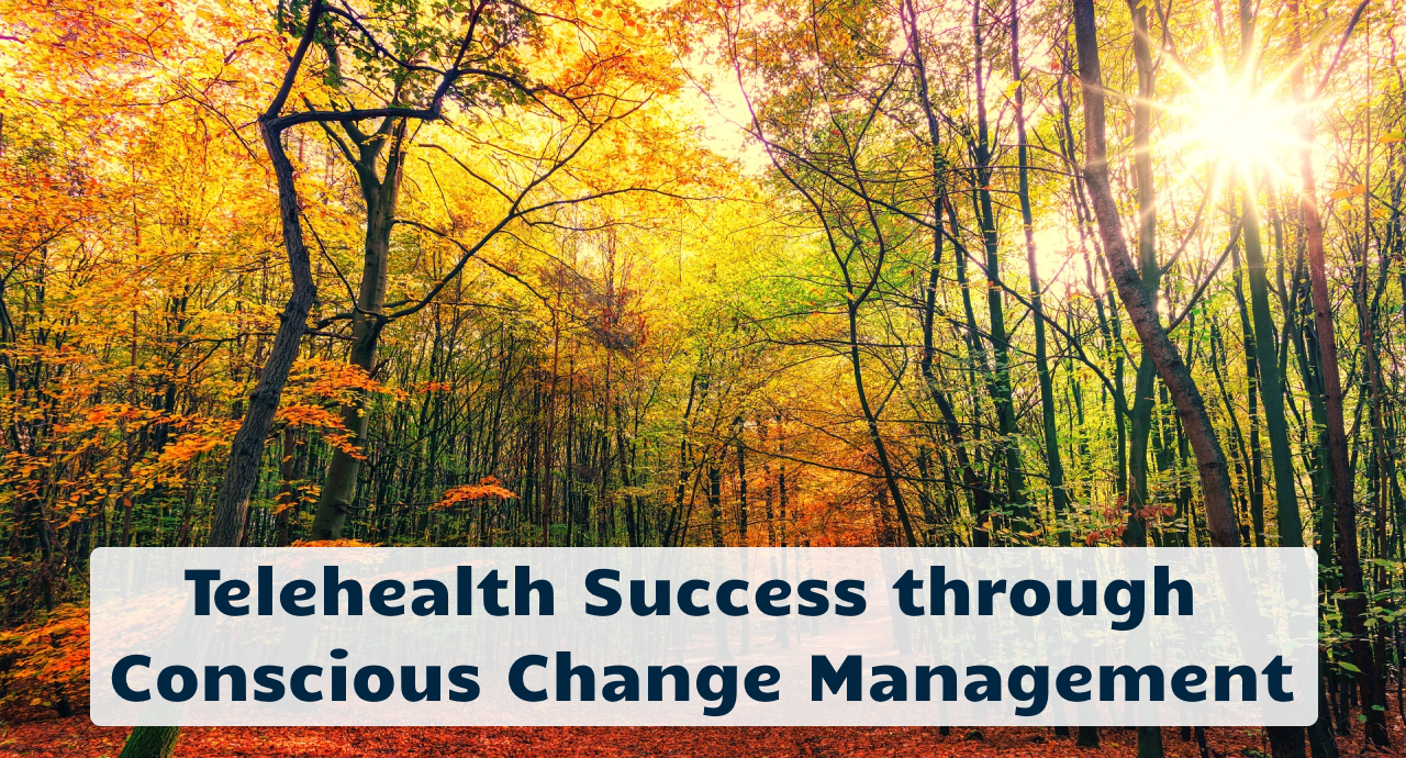Telehealth Success through Conscious Change Management
