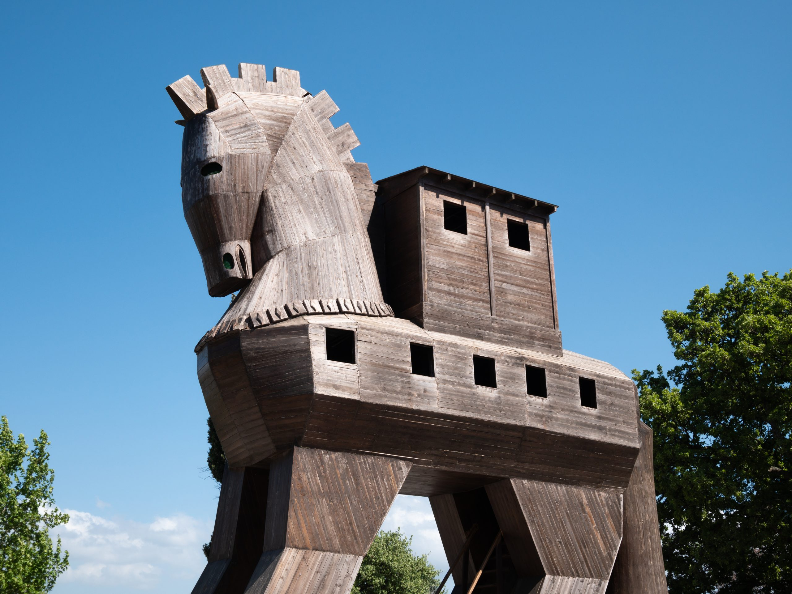 A Trojan Horse to Make an Excuse for Improvement